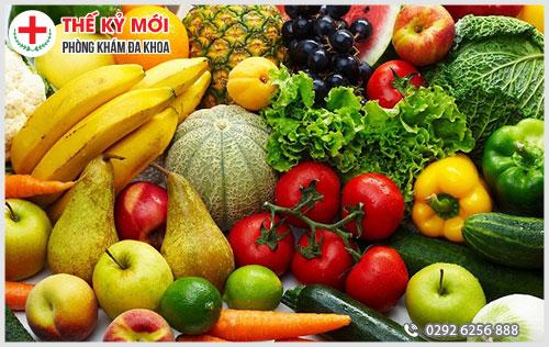 Bệnh trĩ nên ăn nhiều hoa quả