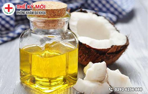 Cách làm hồng vùng kín bằng dầu dừa