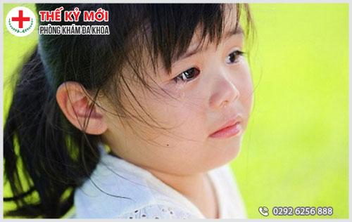 Nguyên nhân bệnh trĩ ngoại ở trẻ em